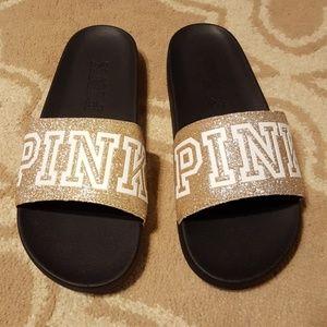 Victoria's Secret Pink slides sandals